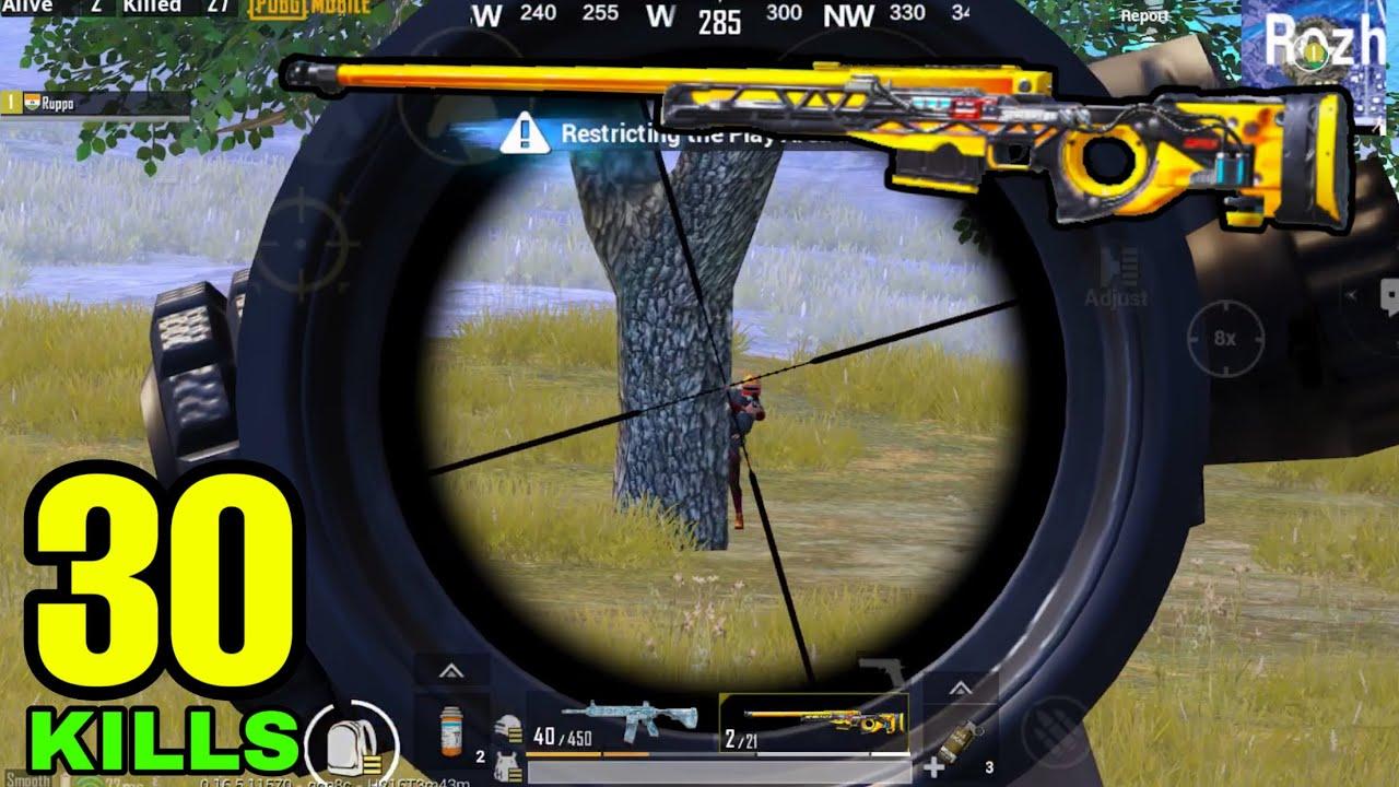 Super AWM vs Sniper MASTER? | PUBG Mobile