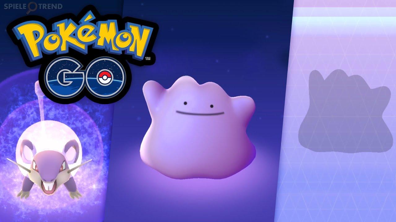 Pokemon Go Ditto Fangen