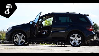Mercedes Benz ML 420 CDI (W164) Тест-драйв; zhmuraTV