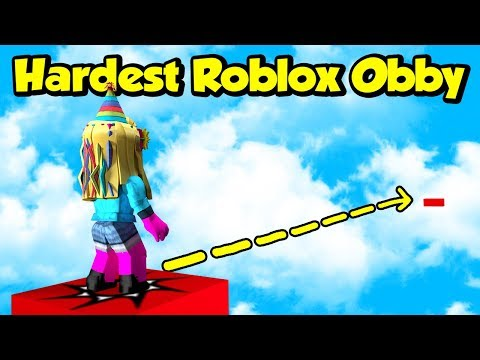THE HARDEST JUMP IN ROBLOX (Insane Obby)
