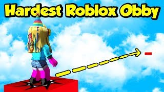 LE PLUS HARDEST JUMP IN ROBLOX (Insane Obby)