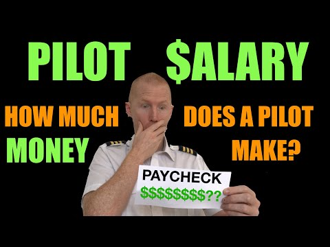 PILOT SALARY - How much a pilot makes a year