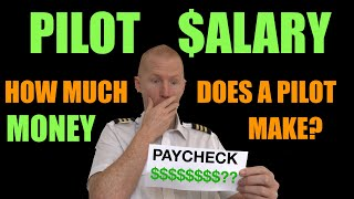 PILOT SALARY - How much a pilot makes a year thumbnail