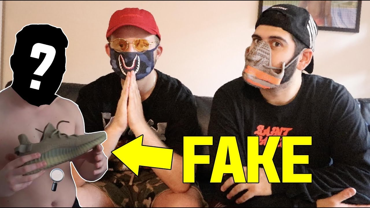 7f63d6d36bba9 ANOTHER YOUTUBERS WITH FAKE YEEZYS!!  YEEZY BUSTA EXPOSED  - YouTube