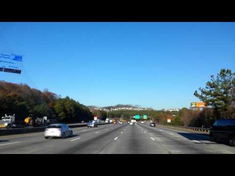 Driving north through Georgia