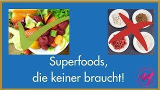 Superfoods, die keiner braucht