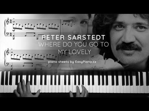 37b836313a6 P.Sarstedt: Where Do You Go To My Lovely + piano sheets (Neckář: Kdo vchází  do tvých snů má lásko)
