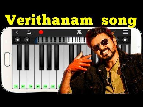 verithanam-song-|-piano-tutorial-|-bigil-|-vijay-|-verithanam-song-whatsapp-status-|-keyboardwonder