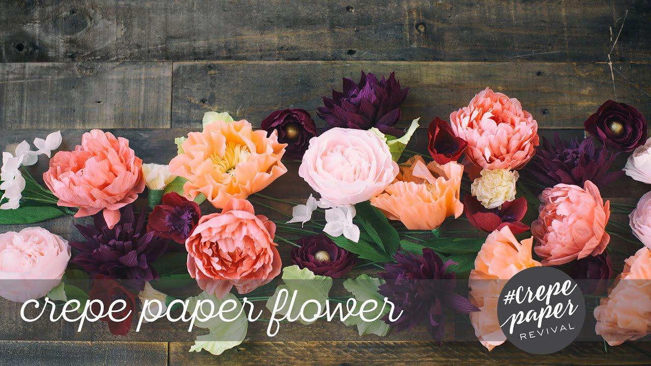 Youtube Crepe Paper Flowers Images Fresh Lotus Flowers