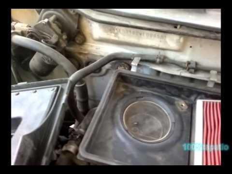 Filtro Aire De Tsuru Nissan Localizacion Youtube