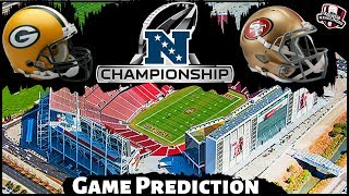 NFL Playoff Predictions - NFC Championship Packers vs. 49ers Playoffs Preview