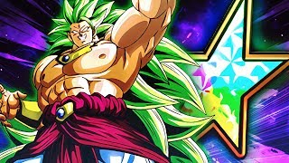 STRENGTH OF AN LR! SUPER SAIYAN 3 BROLY! | Dragon Ball Z Dokkan Battle