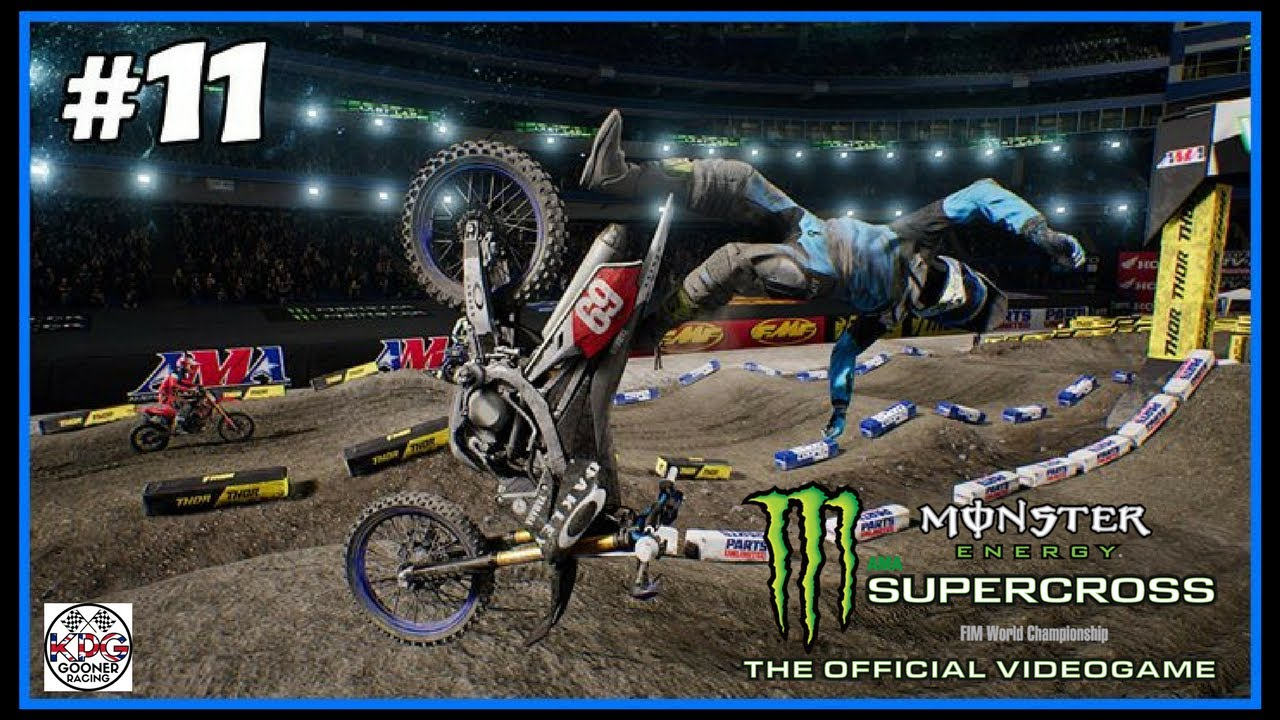 monster energy supercross career mode part 11 roger that. Black Bedroom Furniture Sets. Home Design Ideas