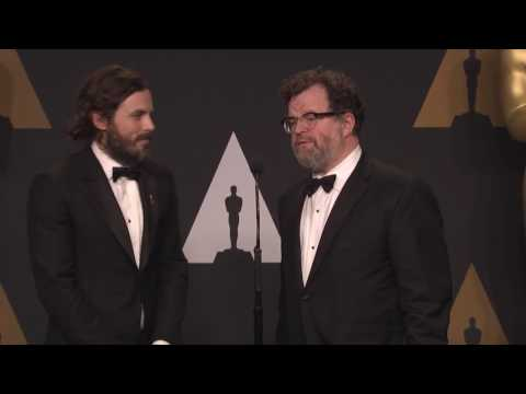 """""""Manchester by the Sea"""" Best Actor, Original Screenplay - Oscars 2017 -Full Backstage Interview"""
