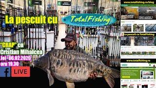 Pescuit la crap, aruncari la distanta - Cristian Mihalcea