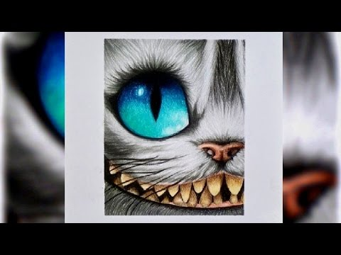 Speed Drawing: Cheshire cat