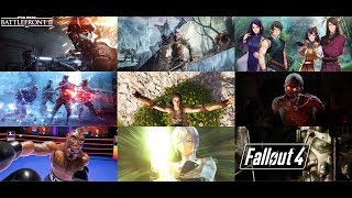 Gameplay Compilation Of Games I Enjoyed In 2018