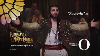 Disneys Ringaren i Notre Dame – musikalen, trailer