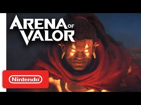 Arena of Valor - Closed Beta Date Announcement Trailer - Nintendo Switch