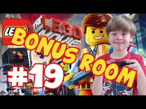 The LEGO Movie Game - Part 19 - BONUS ROOM! |