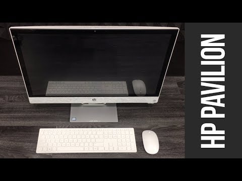 HP Pavilion All-in-One 24-r159c, I5-8400T Unboxing