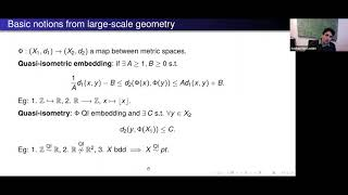 Periodic Floer homology and the large-scale geometry of Hofer's metric on the... - Sobhan Seyfaddini