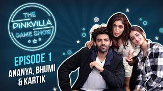 Ananya Panday, Bhumi Pednekar & Kartik Aaryan's BIG Fight | Pinkvilla Game Show | Pati Patni Aur Woh