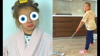 Илона больше не хочет мыть полы и посуду. Личная жизнь ребенка