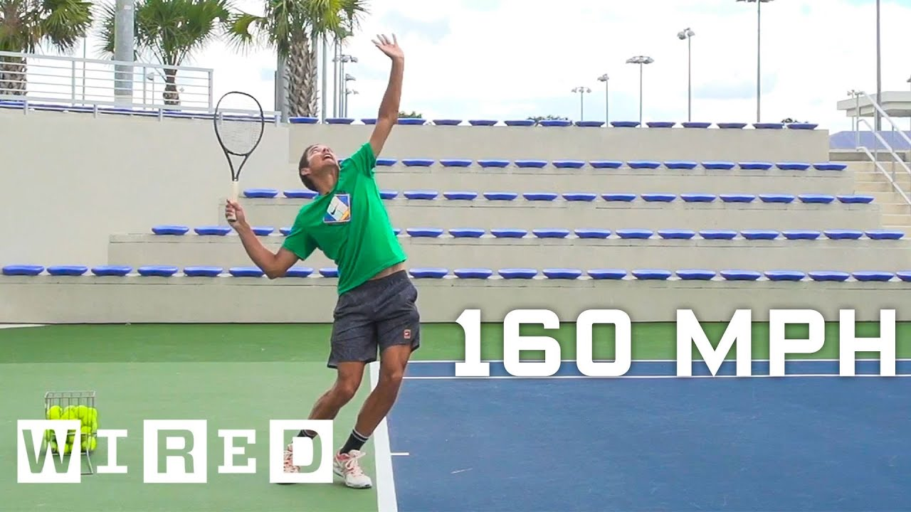 Why It's Almost Impossible to Hit a 160 MPH Tennis Serve