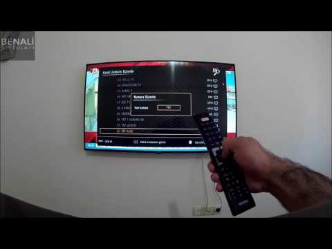 Vestel Smart Led Tv Channel Settings, How to Perform Channel Moving