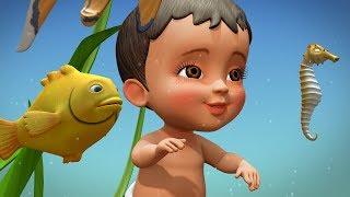 Rangu Rangula Chepalu | Telugu Rhymes for Children | Infobells