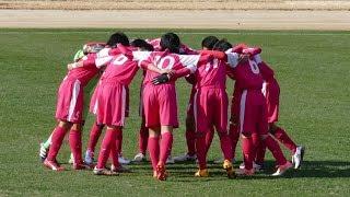 松山北vs松山西 後半 平成29年度愛媛県高校サッカー新人大会 中予地区予選 12月17日 北条陸上競技場