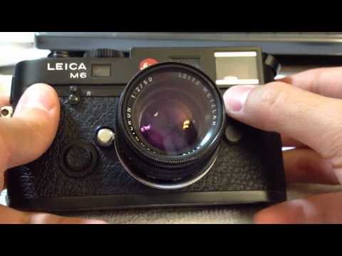 Basic Guide to Leica M6 TTL