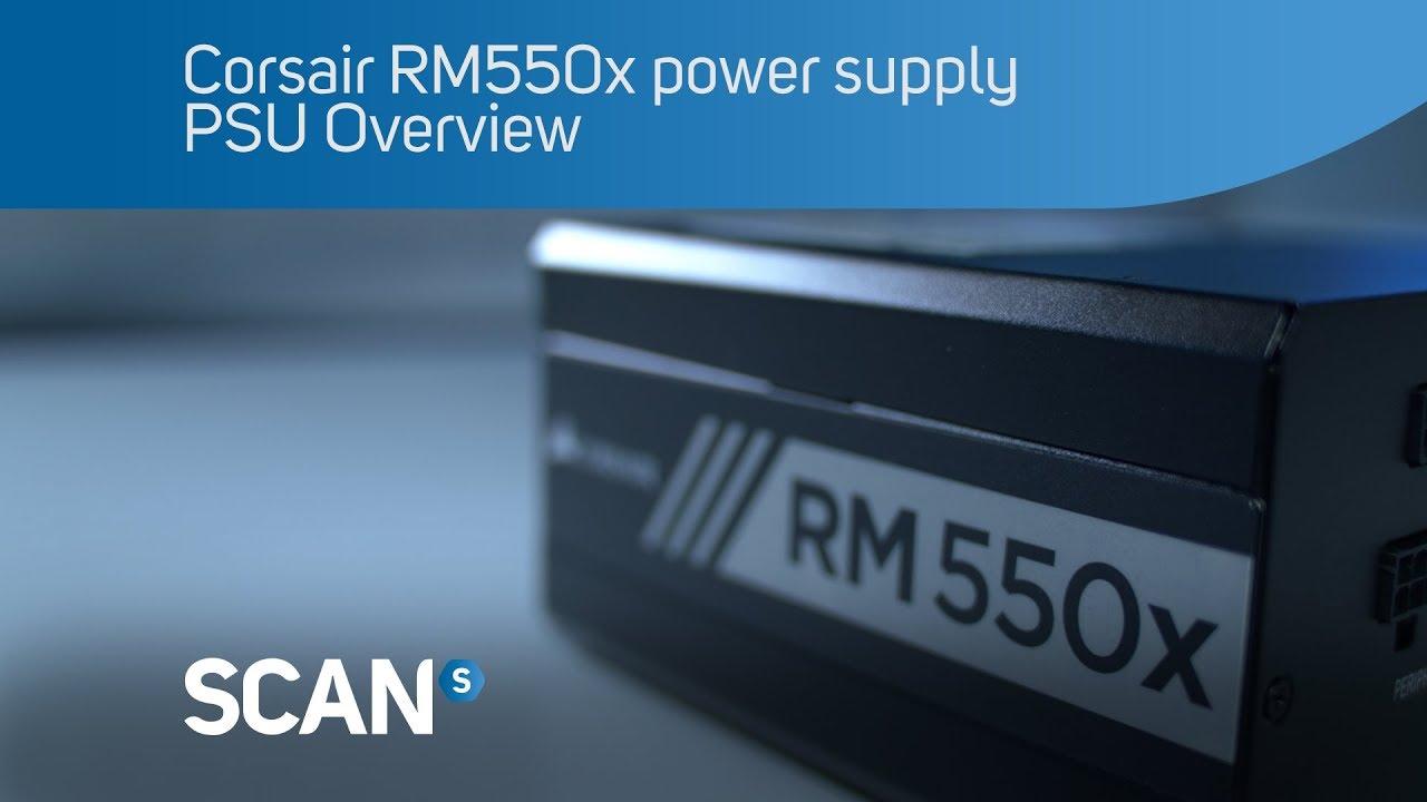 EPS12V Power Supply CORSAIR RMx Series RM550x CP-9020177-NA 550W ATX12V