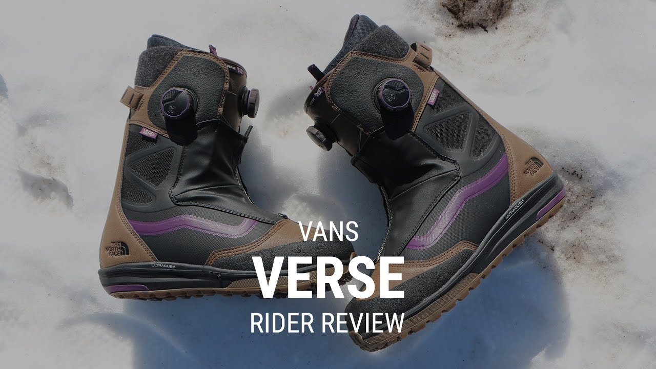 63fa06cf3ed Vans Verse 2019 Snowboard Boot Review - Tactics.com - YouTube