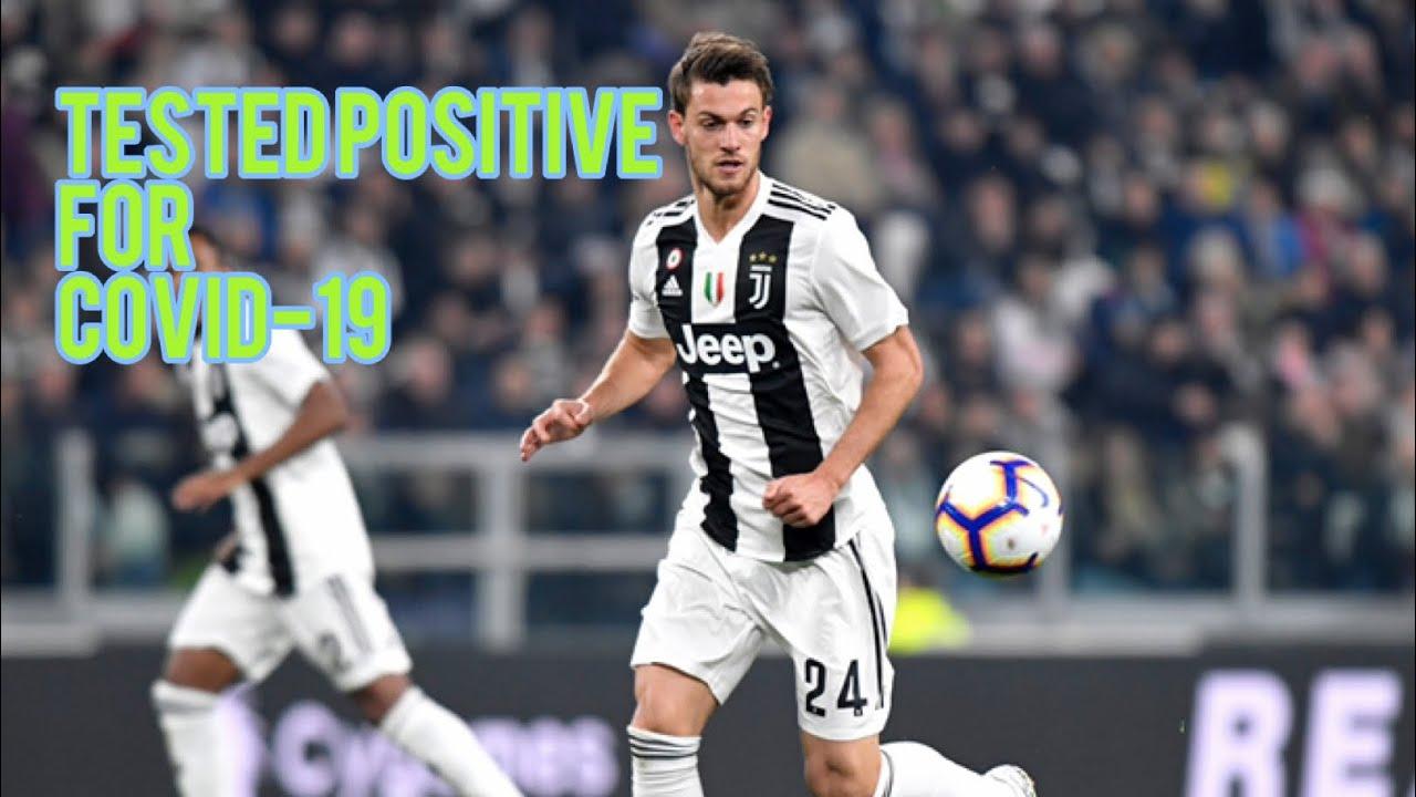 Juventus defender Daniele Rugani tests positive for coronavirus