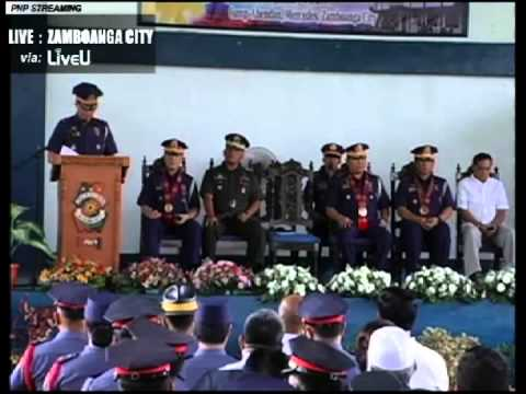 Inaugural Speach of Police Chief Superintendent Juanito Bungay Vano Jr  mpeg4