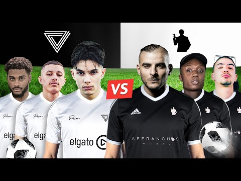 PRISM Vs AFFRANCHIS — CROSSBAR CHALLENGE ⚽ (ft. Fianso, ZeGuerre, Sifax, Rvzmo)