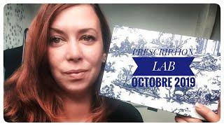 PRESCRIPTION LAB - Octobre 2019
