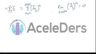 Seriler - Geometrik seri - Geometric series
