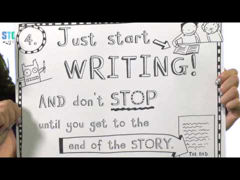 Liz Pichon, How do you write and plan a comic style story?