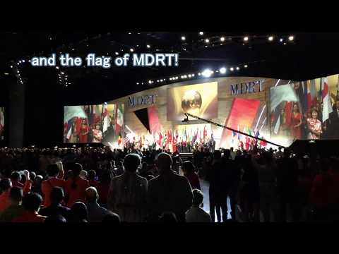 2017 6 4       2017 MDRT Annual Meeting in Orland Flag ceremony