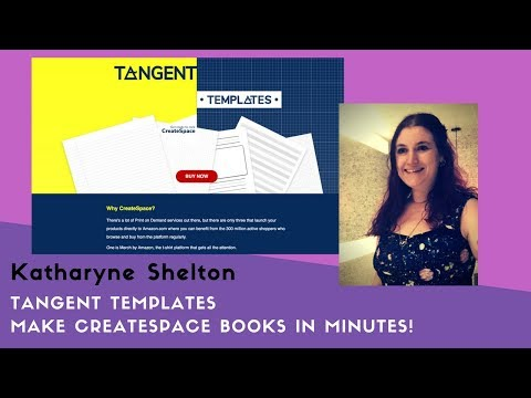 CreateSpace books in minutes with Tangent Templates