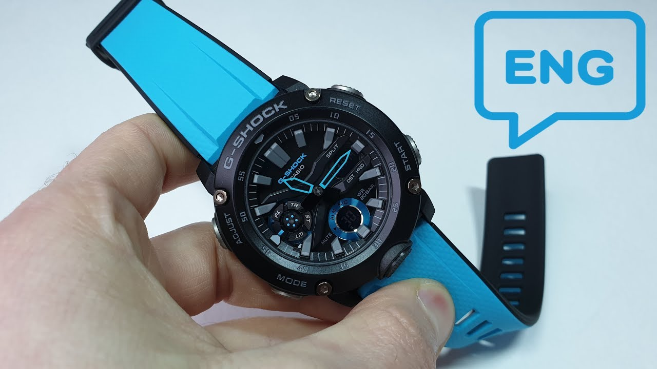 3b1feefbba46d The New G-SHOCK GA-2000. (English) - YouTube