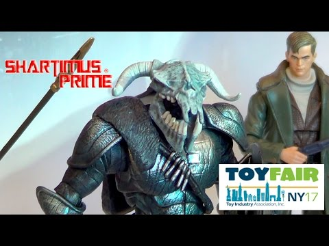New DC Multiverse Mattel  DC Comics CW 6 Inch Action Figures at New York Toy Fair 2017