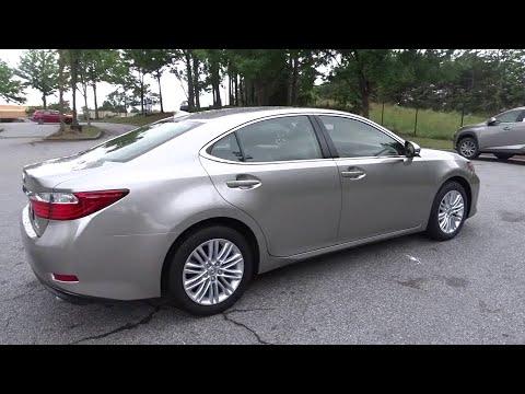 2015 Lexus ES 350 Duluth, Johns Creek, Buford, Suwannee, Lawrenceville, GA U42421
