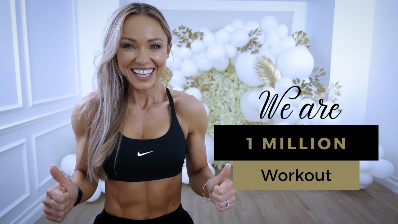 Download WE ARE 1 MILLION WORKOUT    30 Min Full Body - No Equipment, No Jumping, No Repeat, Calisthenics