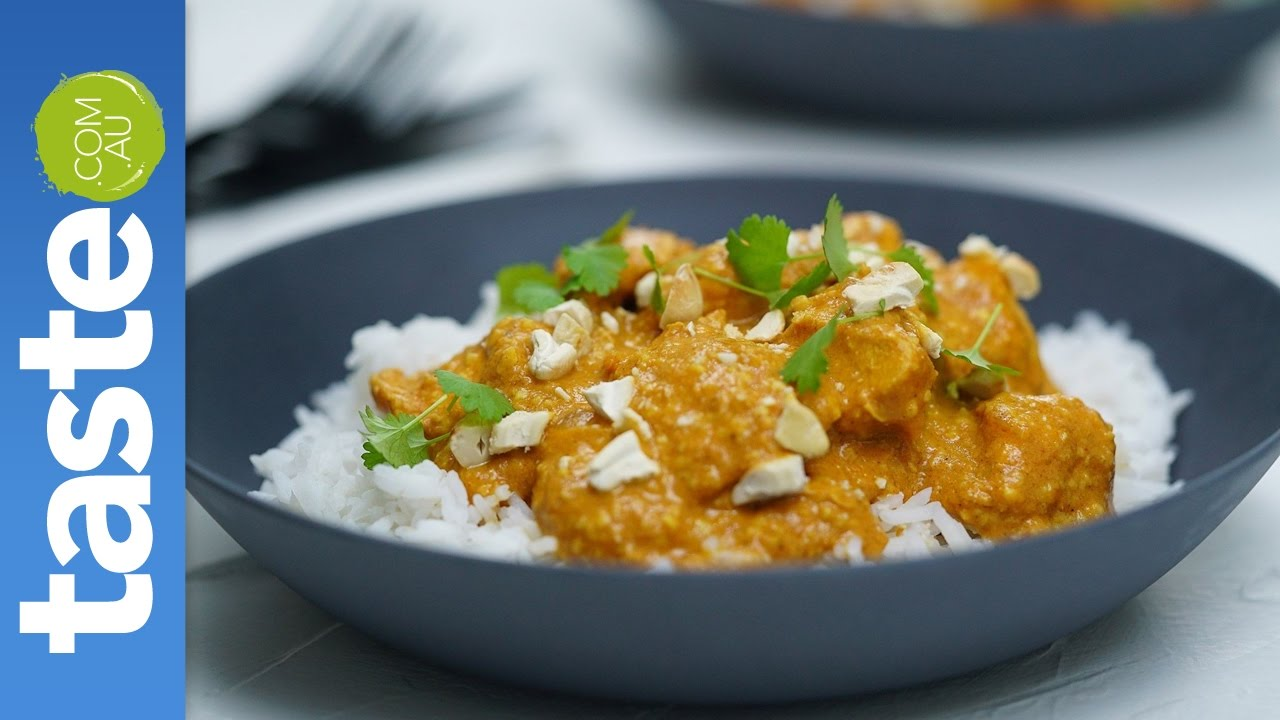 how to make butter chicken youtube video