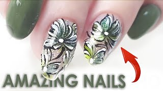 New Amazing 2021 Nail Art Design nails from Russia