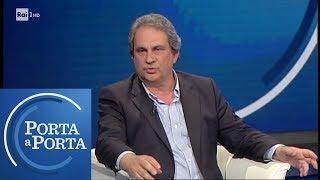 Elezioni europee 2019: Roberto Fiore, leader di Forza Nuova - Porta a Porta 15/05/2019